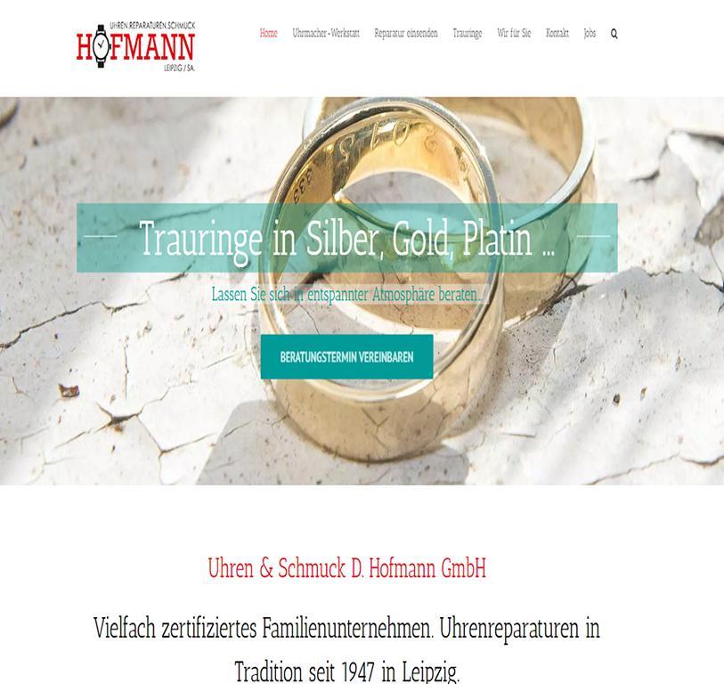Verkauf und Uhr Reparatur Uhrmacher Hofmann Leipzig