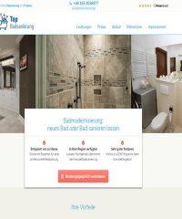 Badumbau für eine behindertengerechte Dusche