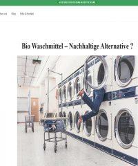 Heldengrün – Das natürliche Waschmittel