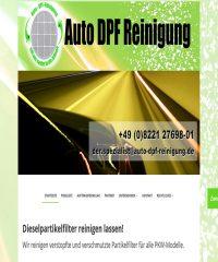 Auto DPF Reinigung