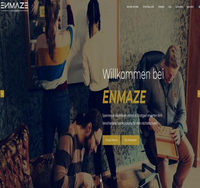 ENMAZE Escape Rooms und Stadtrallyes
