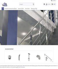 Balkongeländer, Rohre & Pfosten, Treppengeländer aus V2A Edelstahl