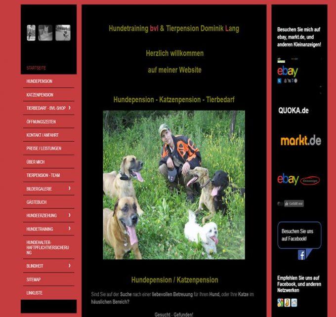 Hundepension – Katzenpension – Tierbedarf