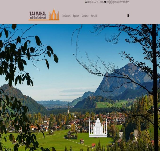 Indische Spezialitäten aus Oberstdorf