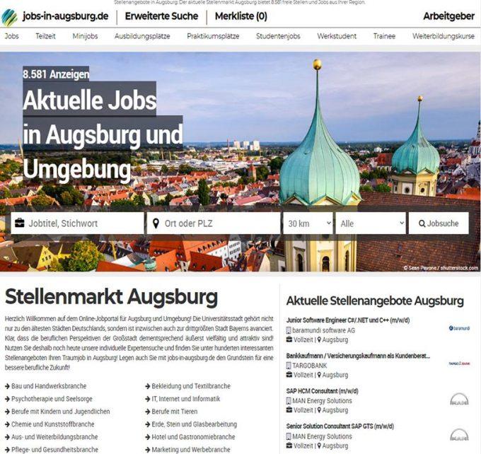Aktuelle Jobangebote – jobs-in-augsburg.de