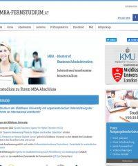 MBA-Fernstudiengänge – deutschsprachig und berufsbegleitend
