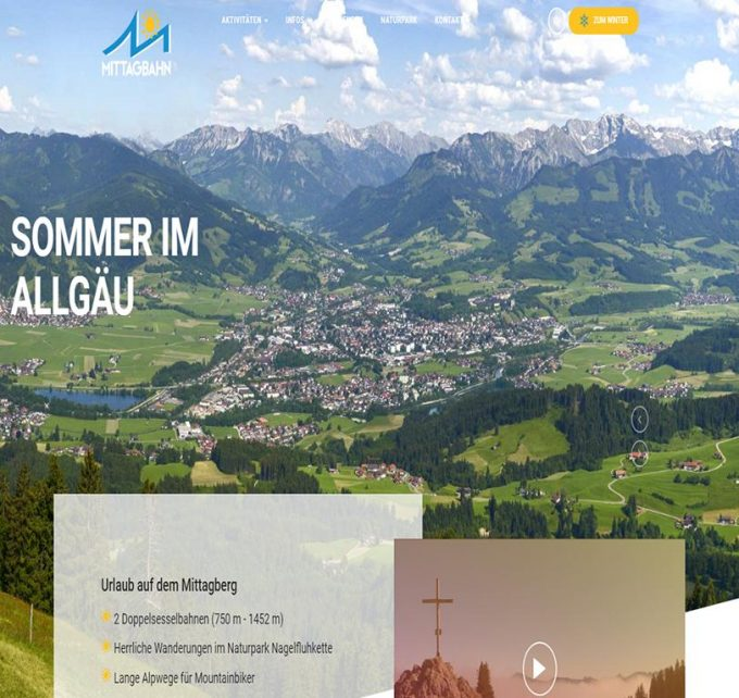 Mittag Bergbahn Immenstadt Allgäu