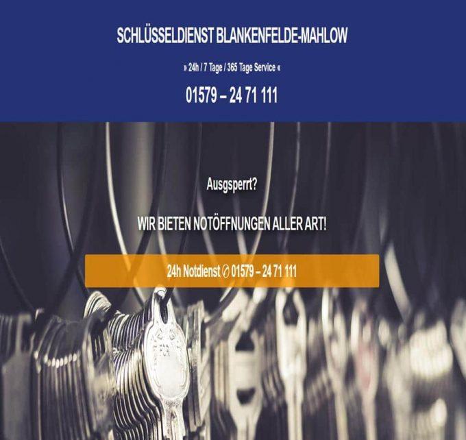 Schlüsseldienst Blankenfelde-Mahlow