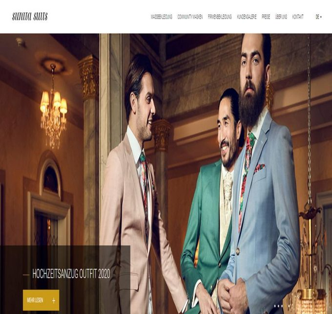 Sunita Suits – Anzüge online