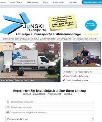 Umzugsunternehmen Junski Transporte für Hamburg und das Umland