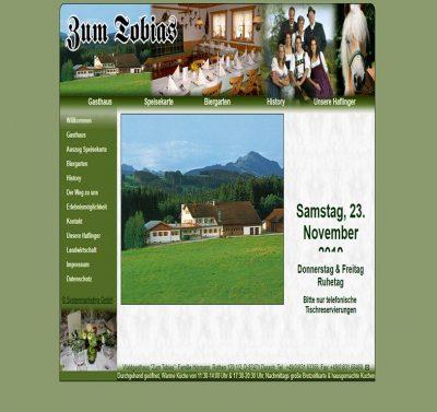 Waldgasthaus zum Tobias in Durach nähe Kempten