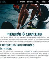 All About Gains – Fitnessgeräte für zuhause kaufen