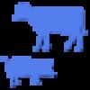 Haus und Nutztiere