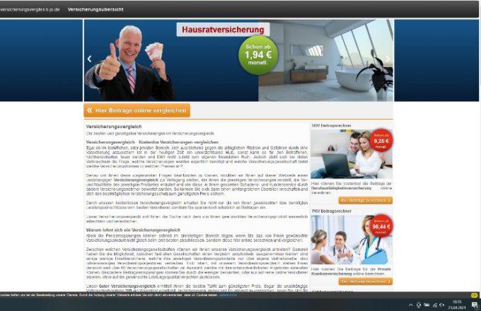 versicherungsvergleich-js.de – Unabhängiger und Kostenloser Versicherungsvergleich