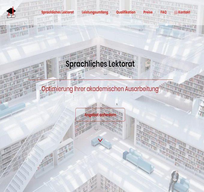 Wissenschaftslektorat: Korrektur der Rechtschreibung bei Jura