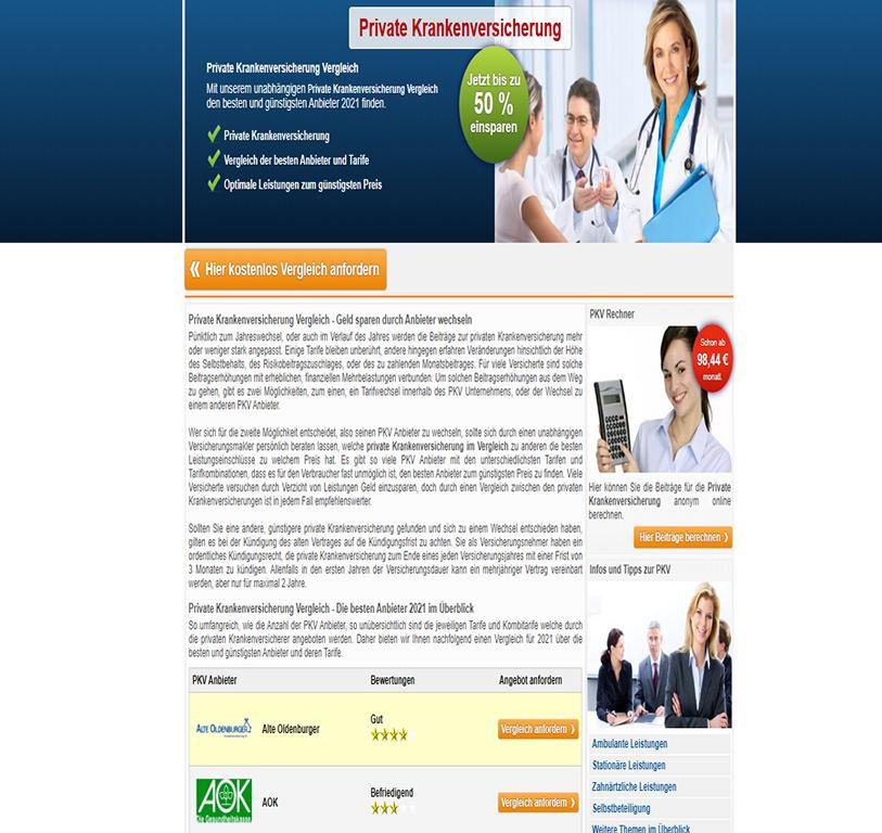 private-krankenversicherung-js.de - Infos und Tipps über die private Krankenversicherung